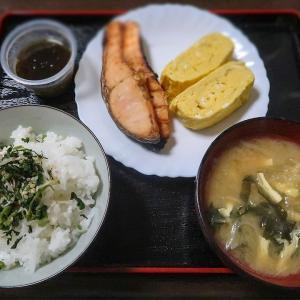 炊きたてご飯には ~焼き鮭・だし巻き卵・酢の物~