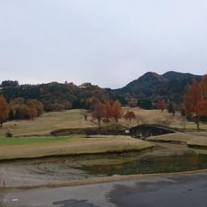 本日のゴルフ 初冬編
