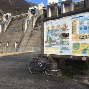 横山ダムまで 2020-1-26