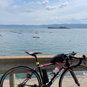 自転車で桜島一周 (時計回り) -2021-4-11