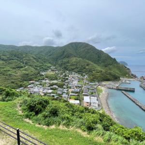 串木野からフェリーに自転車を載せて甑島を一泊二日 -2021-7-22