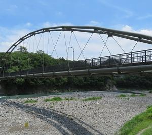 多摩川に沿って青梅から福生へ