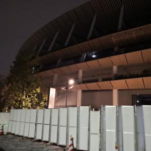 20201028国立競技場夜ラン