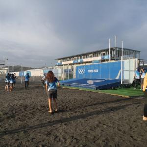 オリンピックサーフィンボランティア活動終了