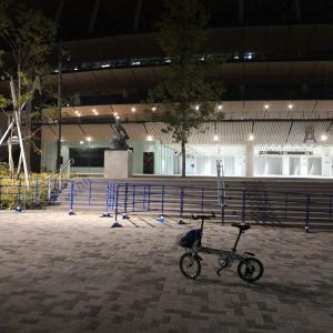 国立競技場サイクリング