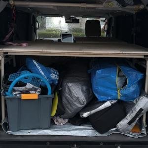 エブリィの荷台を2段ベッド化する作戦