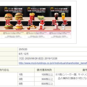【株式投資】6月の優待クロス取引&イオンモールからギフトカードが届きました。