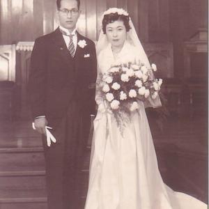 今日は何の日? 63回の結婚記念日です。