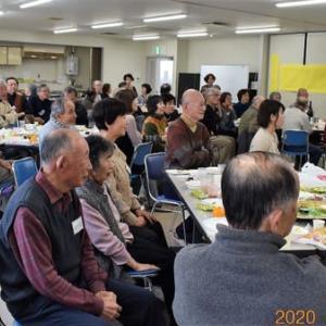 豊能町山岳同好会年賀交歓会に参加。
