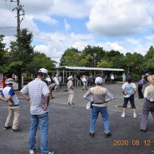 水曜joyfullwalkは、旧山下道前半を約70人が歩いた。