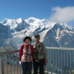 蔵出し画像・「フランス・スイスアルプス三大名峰の旅から。
