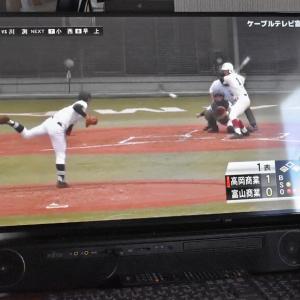 バーチャル高校野球をパソコンで楽しむ。