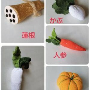 布の野菜作り完成!