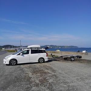 インフレータブルボートトレーラブル化!に転向(^_^;)