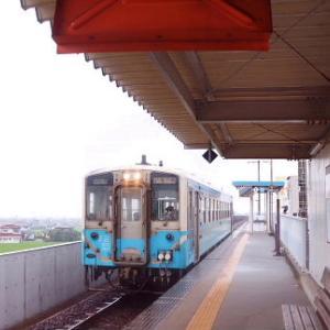 終点駅テツ(287) 向井原駅-愛媛県