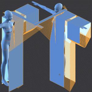 浴衣を作ろう2[Blender 3DCG 女の子]
