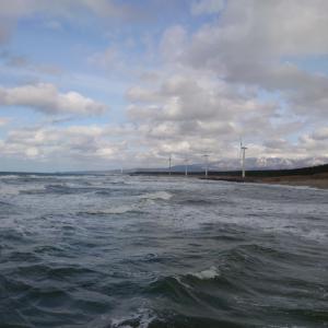冷温の海(釣り鉄の旅)