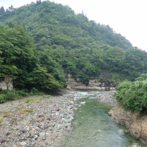 未知の流域(阿賀川水系)