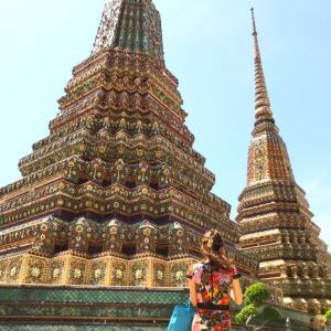 タイ・バンコク旅!アサンプション大聖堂とワットポーへ行ってきたよ!