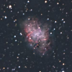 M1かに星雲、 何とか撮れたノンガイド
