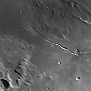 月面撮影: ビギヌス谷