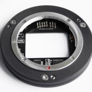 ASI6200MM PRO用電子接点付EFマウントでEFレンズ絞れるよ!