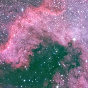 NGC7000北アメリカ星雲を久々に!