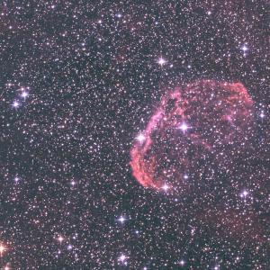 NGC6888 クレセント星雲何とか撮りましたけど、、、