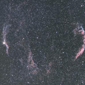 EF100-400で撮った網状星雲