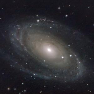 M81 パワーメイトで撮ったけど