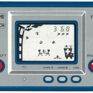 「任天堂ゲームウォッチ」小学生みんなが夢中になった!