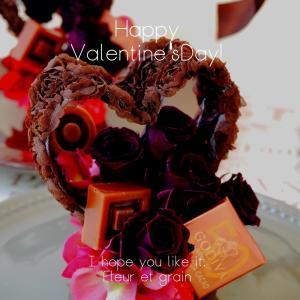 《マンスリ-レッスン》しっとりこっくり大人な『バレンタインガラスドーム』