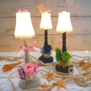 『LED花ランプ』100均万歳ヽ(^o^)丿