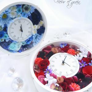 人気の『花時計』レッスン続々。