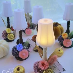 『LED花ランプ~ハロウィン~』100均万歳ヽ(^o^)丿