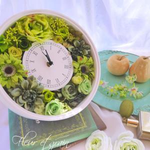 人気の『花時計』は十人十色。