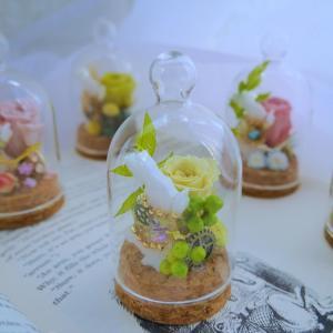 《プチプラ販売》『時計ウサギのガラスドーム』