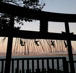 海神族の聖地 海の神総本社 福岡【志賀海神社】と、織幡神社