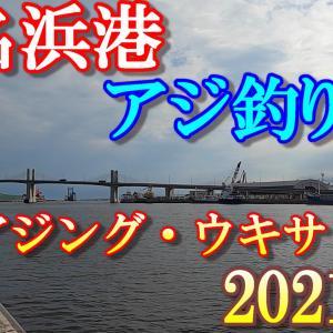 2021年 小名浜港(夏・海釣り)アジ釣り!【アジング・ウキサビキ】今、アジが釣れてます。「アジ