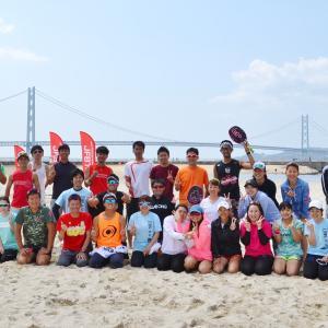 令和元年!最初のJTA Beach Tennis Tour 阪神大会(ミックスダブルス編)