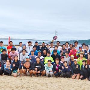 令和元年!最初のJTA Beach Tennis Tour 阪神大会(男女ダブルス編)