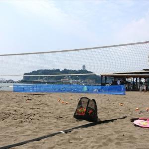 湘南でビーチテニス