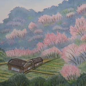 今年も里山に桜咲く