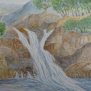峡谷 三段滝