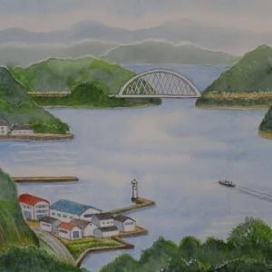 瀬戸内海(安芸灘とびしま海道) 大崎下島