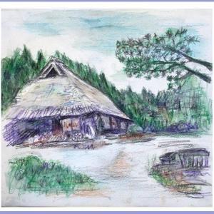 茅葺家屋 (1909)
