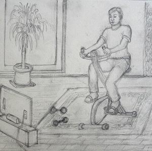 エクササイズ バイク (2004) 作成中