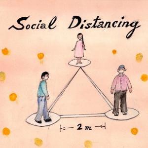 Social DistanceとSocial Distancing の違い