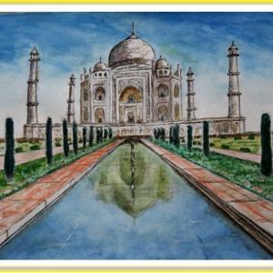 タージマハル (インド) (2107)
