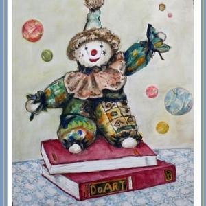 ピエロ人形   (1908‐2107)